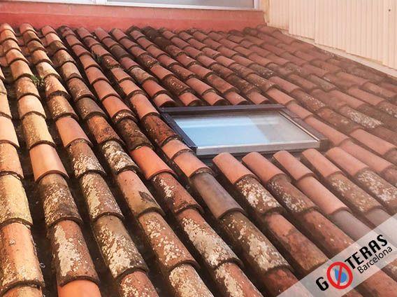 Reparación de tejados - Paso 1